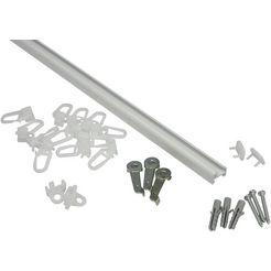 gardinia gordijnrail aluminiumrail serie aluminiumrail oe 13 mm wit