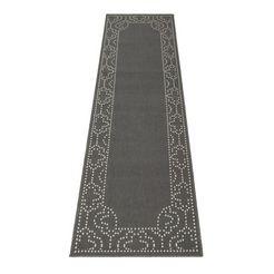 loper, »jamil«, oriental weavers, rechthoekig, hoogte 3 mm, machinaal geweven grijs