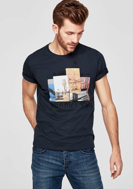 s.Oliver RED LABEL Jersey shirt met een fotoprint voordelig en veilig online kopen