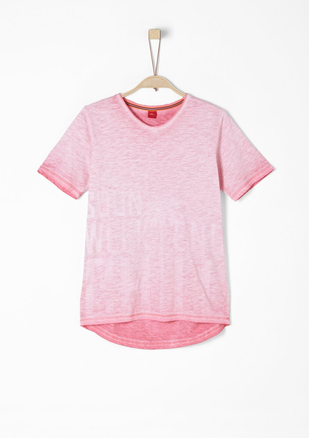 S.oliver Red Label Junior T-shirt in sun-faded look voor jongens bestellen: 14 dagen bedenktijd