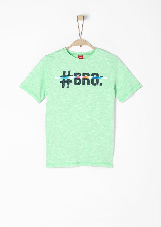 S.oliver Red Label Junior T-shirt met 3D-statement voor jongens goedkoop op otto.nl kopen