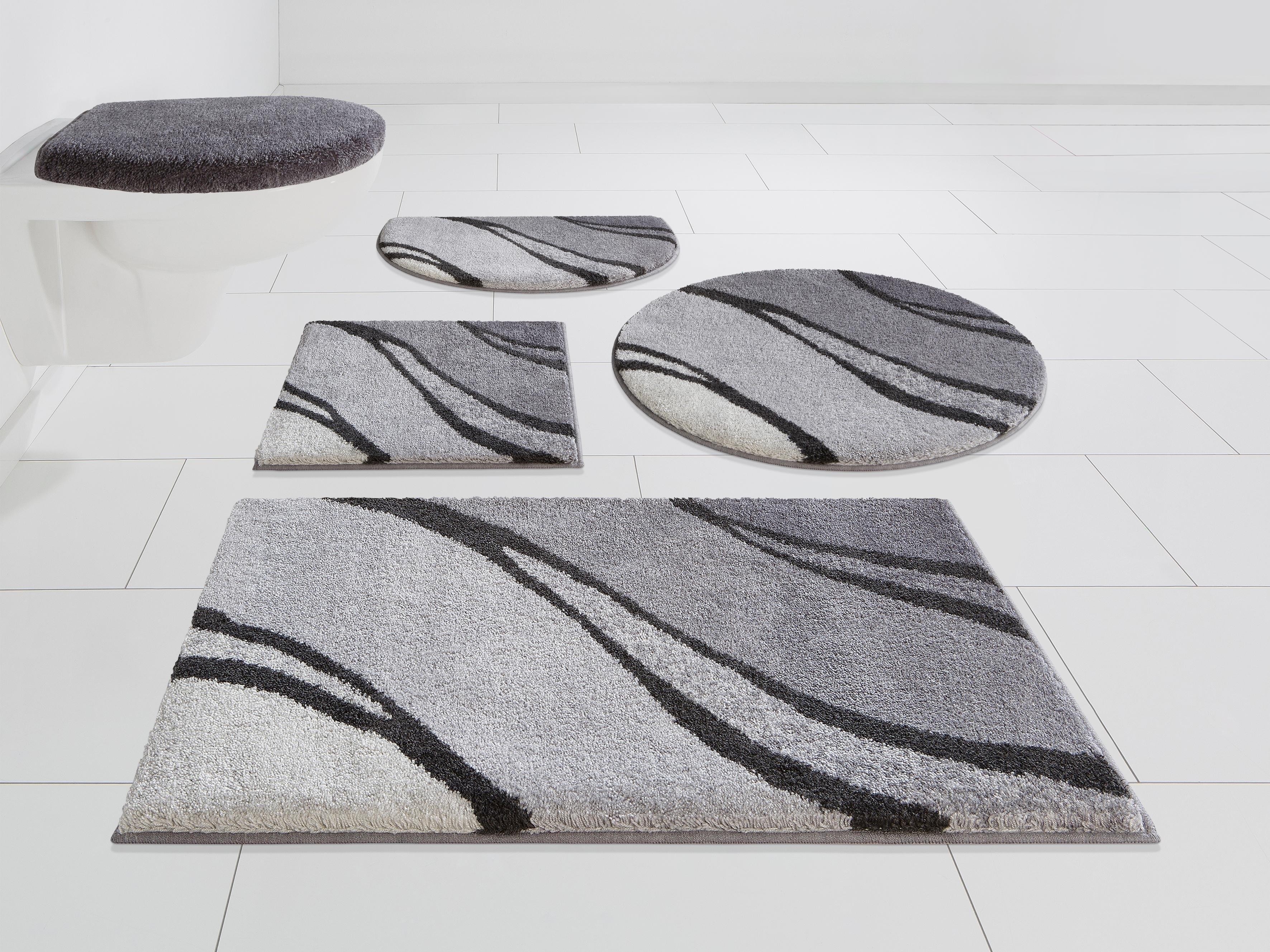 GRUND exklusiv Badmat »Reno«, hoogte 20 mm, met antislip-coating, geschikt voor vloerverwarming - verschillende betaalmethodes