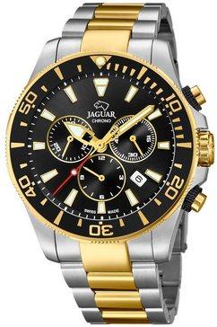 jaguar zwitsers horloge »executive diver swiss made, j862-2« zilver