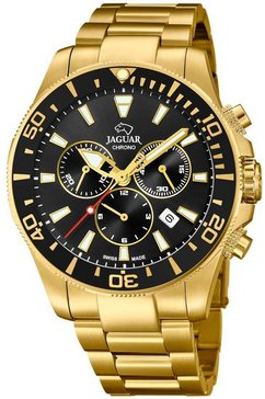 jaguar zwitsers horloge »executive diver swiss made, j864-3« goud