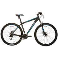 fuji bikes mountainbike »nevada 3.0 le«, 21-voudige shimano rd-ty500-kettingschakeling zwart