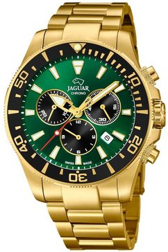 jaguar zwitsers horloge »executive diver swiss made, j864-1« goud