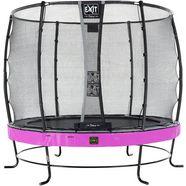 exit trampoline »elegant premium«, ø 251 cm, met veiligheidsnet deluxe paars paars