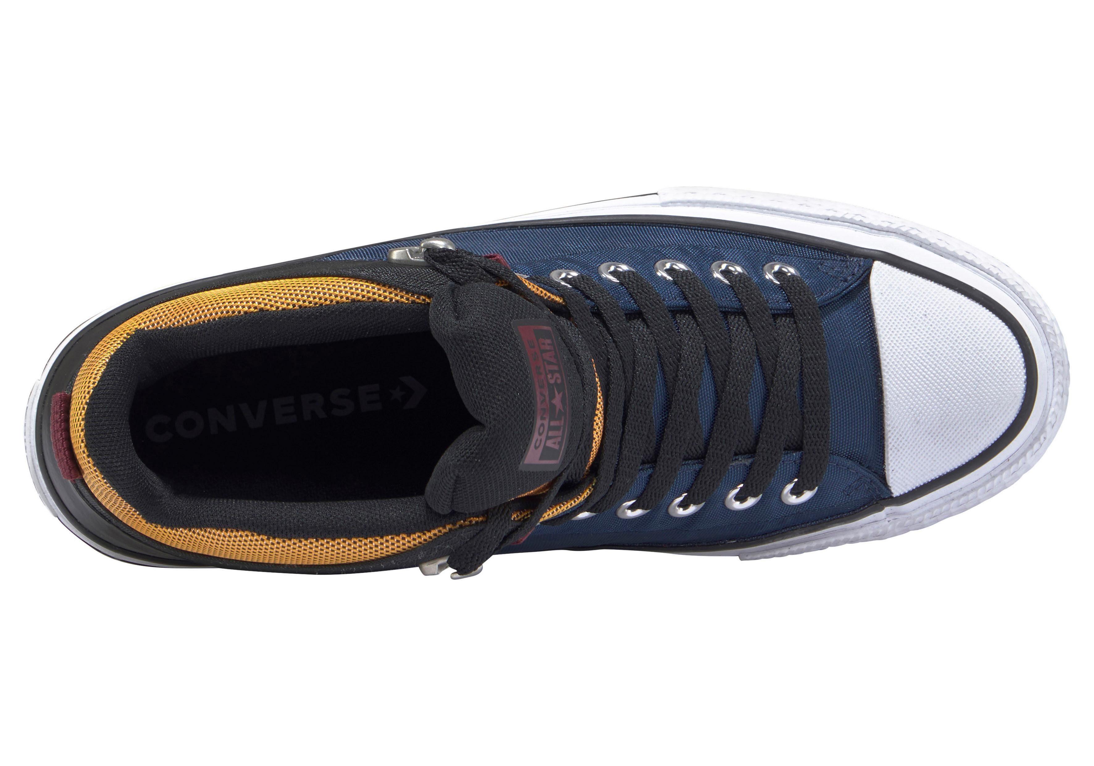 converse laarzen blauw