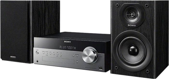 SONY »CMTSBT100B« micro-hifi-set (bluetooth,NFC, FM-tuner,digitale radio (DAB+), 50 W) nu online kopen bij OTTO