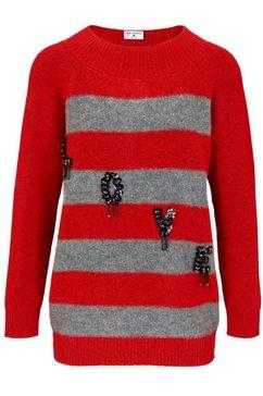 longline-pullover grijs