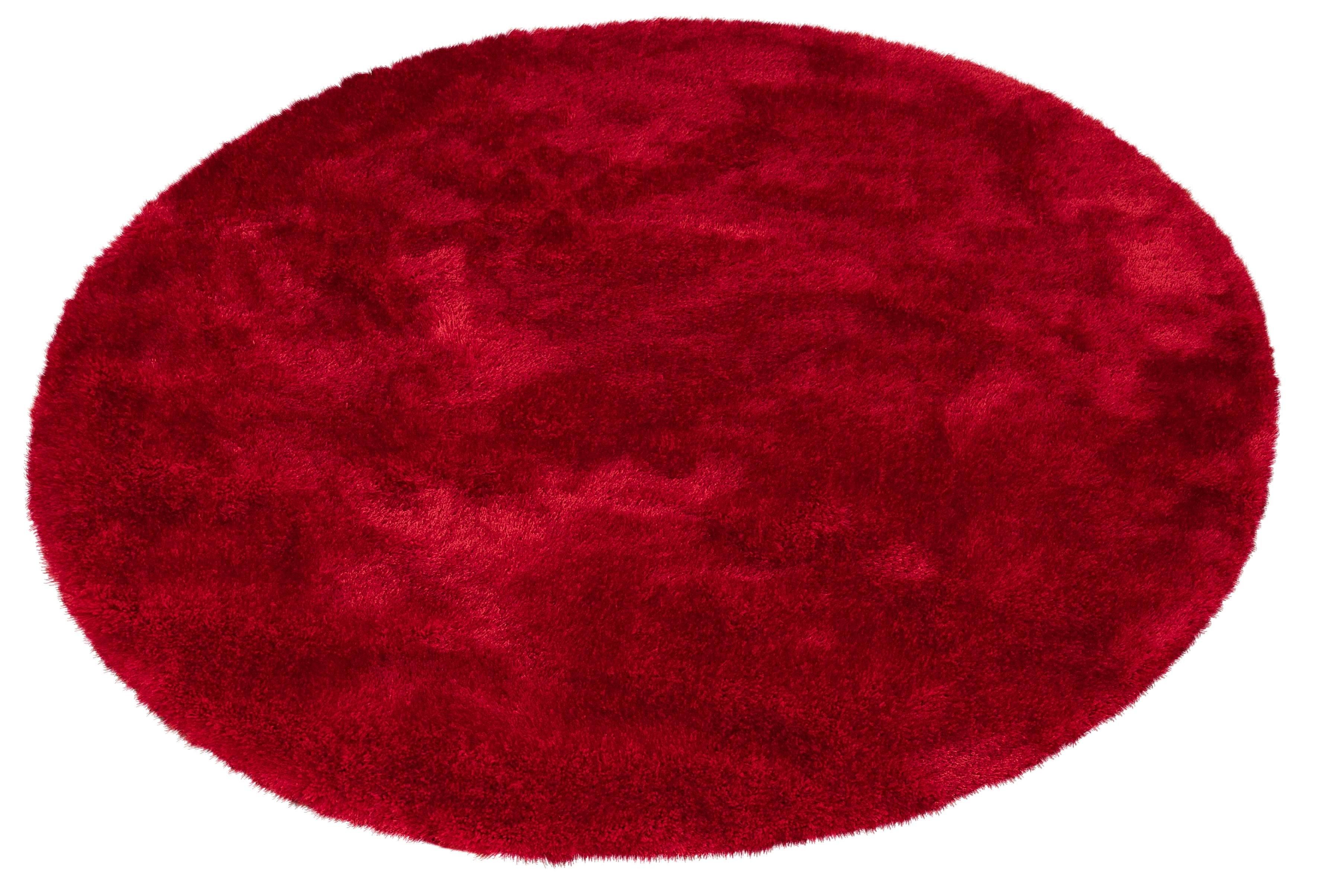 my home Hoogpolig vloerkleed, »Mikro Soft Super«,Selection, rond, hoogte 50 mm, machinaal geweven - verschillende betaalmethodes