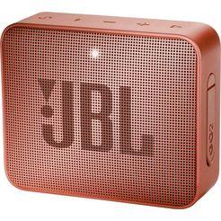 jbl »go 2« portable luidspreker (bluetooth, 3 w) bruin