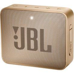 jbl »go 2« portable luidspreker (bluetooth, 3 w) goud
