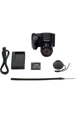 canon bridge-camera powershot sx430 is zwart