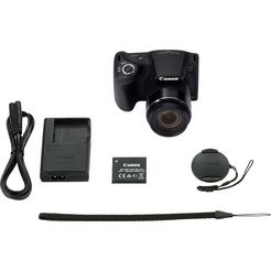 canon »powershot sx430 is« bridge-camera (20 mp, 45x optische zoom, nfc wifi (wifi)) zwart