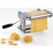 gefu pastamachine pasta perefetta brillante voor 3 verschillende soorten noedels zilver