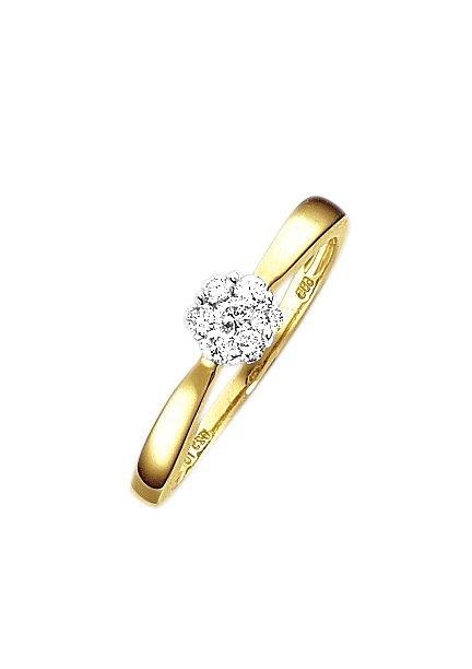 Op zoek naar een Firetti verlovingsring Stapelring, ringkroon ca. 5,5 mm breed met diamanten? Koop online bij OTTO