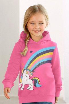 arizona shirt met lange mouwen »eenhoorn« roze