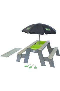 exit kinderpicknicktafel »aksent deluxe«, bxd: 94x120 cm, met 2 zitoppervlakken 2014