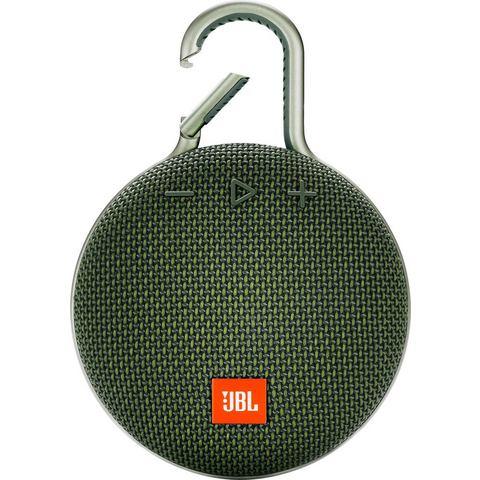 JBL Clip 3 Bluetooth luidspreker Handsfree-functie, Outdoor, Spatwaterdicht Groen