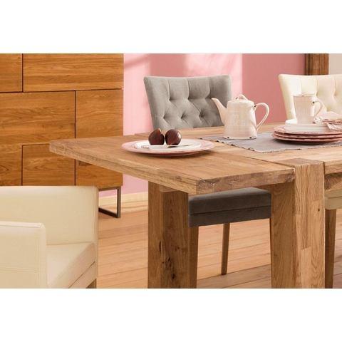 Home affaire insteekblad voor eettafel Marianne in 2 verschillende afmetingen en leuke hout-look