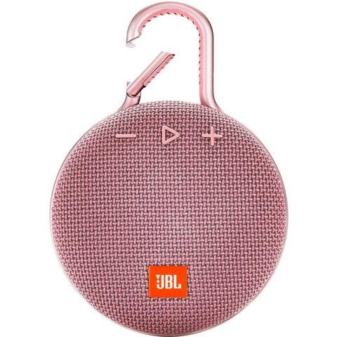 JBL Clip 3 Bluetooth luidspreker Handsfree-functie, Outdoor, Spatwaterdicht Roze