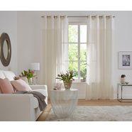 gordijn, »marseille«, my home selection, ringen set van 2 beige