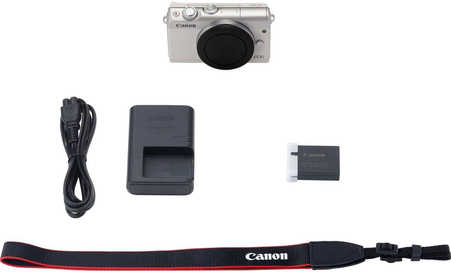 Canon »EOS-M100BODY EU26« systeemcamera-body (24,2 MP, NFC wifi, bluetooth) - gratis ruilen op otto.nl