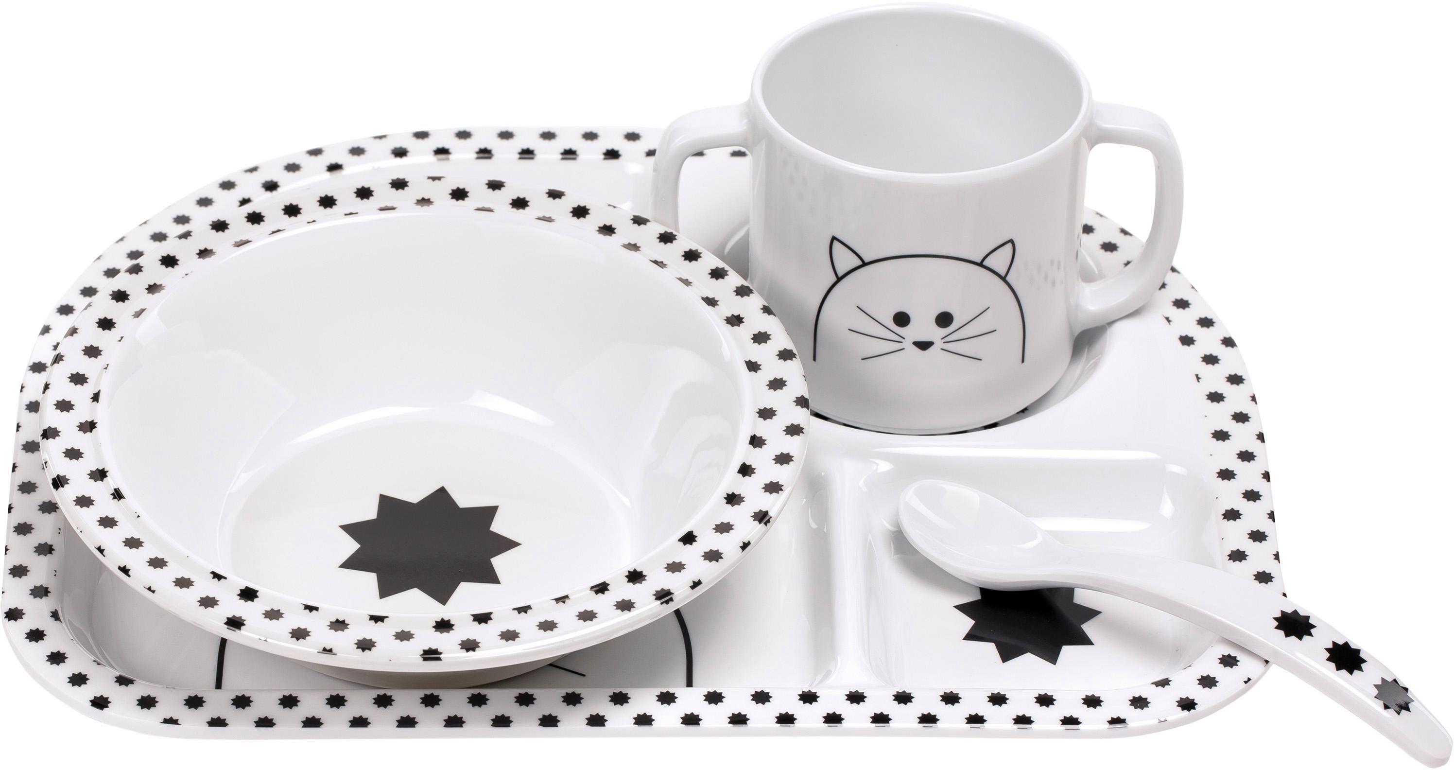 Lässig kinderservies-set Little Chums, Cat (4-delig) in de webshop van OTTO kopen
