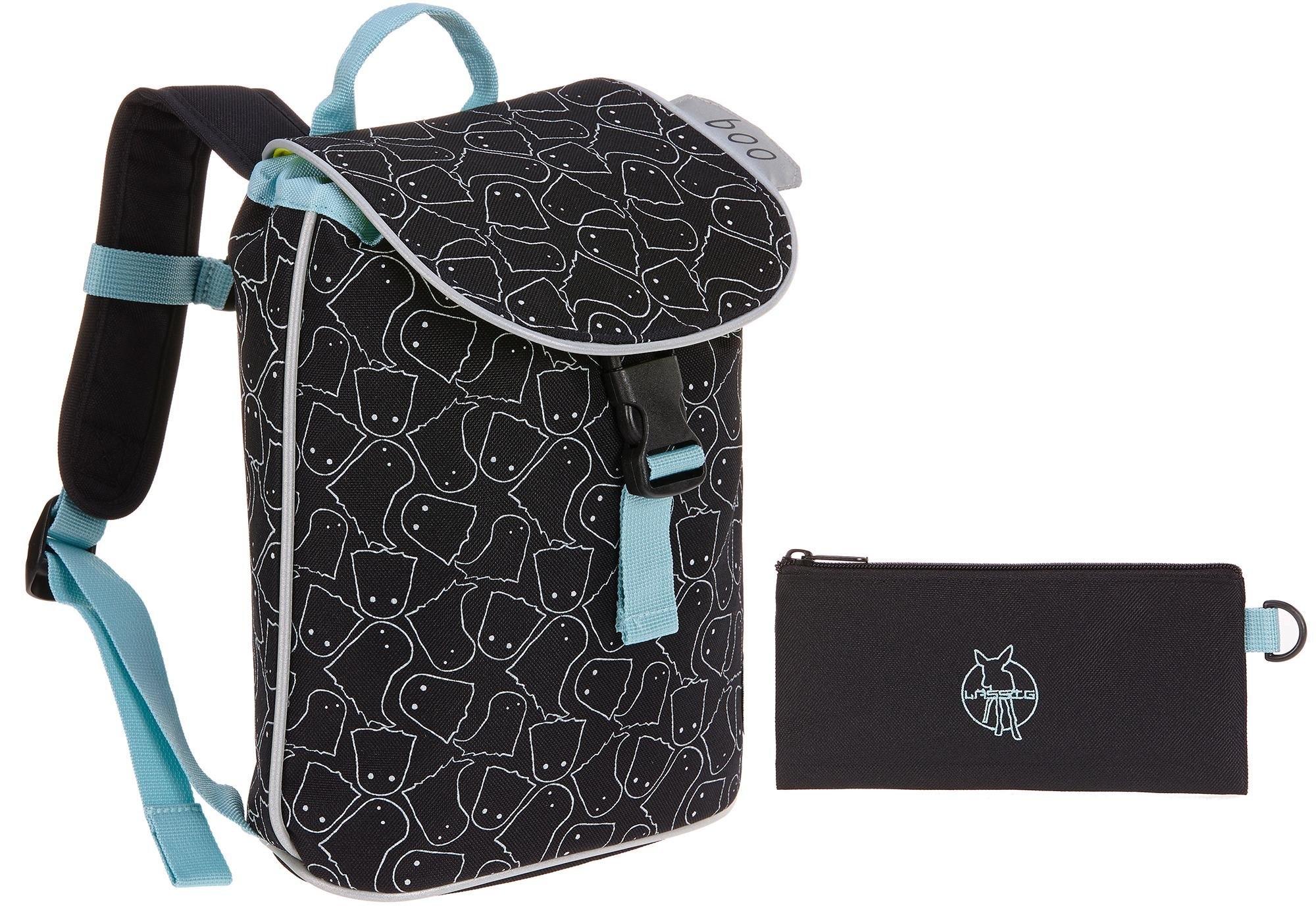 Lässig kinderrugzak, »4Kids Mini Duffle Backpack, Spooky Black« - verschillende betaalmethodes