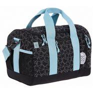 laessig sporttas, »4kids mini sportsbag, spooky black« zwart
