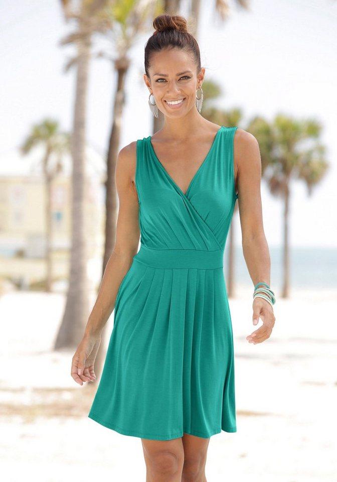 Beachtime strandjurk groen