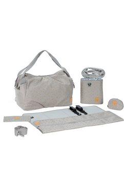 laessig luiertas met verzorgingsmatje, »casual twin bag triangle, light grey« grijs