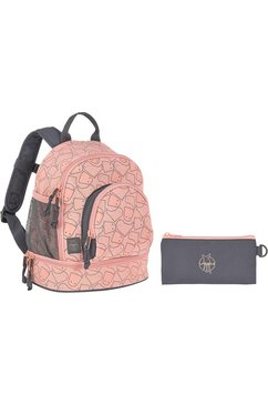 laessig kinderrugzak, »4kids mini backpack, spooky peach« roze