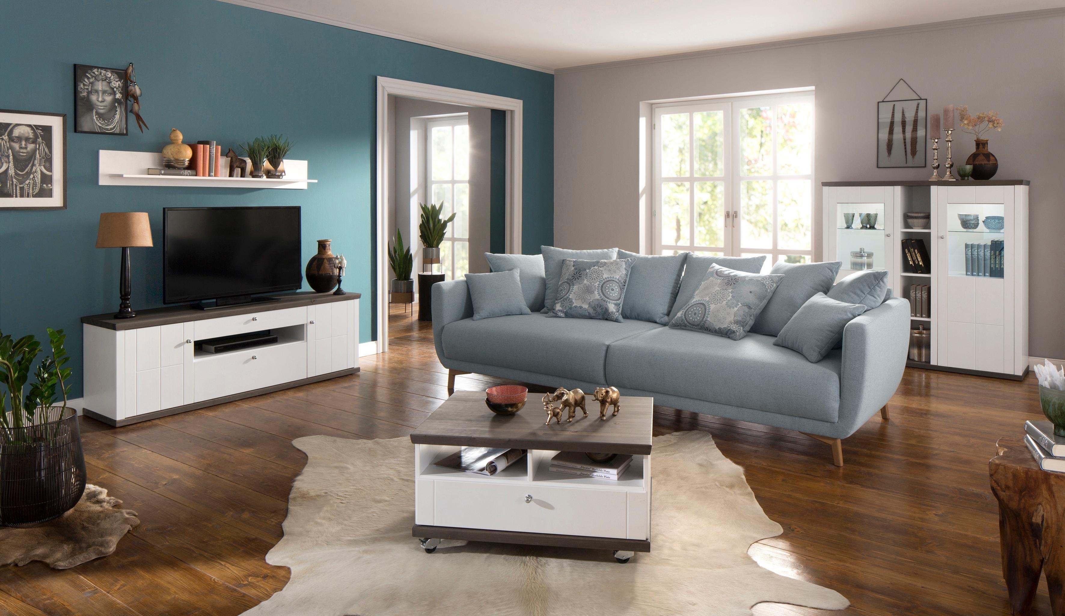 Premium Collection By Home Affaire tv-meubel »Delice«, landhuisstijl, soft-close, breedte 163 cm. bestellen: 30 dagen bedenktijd