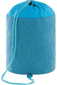 laessig sporttas door peta goedgekeurd veganistisch; van gerecycled materiaal blauw