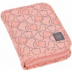 laessig etui met inhoud, »4kids school pencil case big, spooky peach« roze