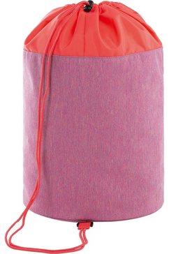 laessig sporttas door peta goedgekeurd veganistisch; van gerecycled materiaal roze