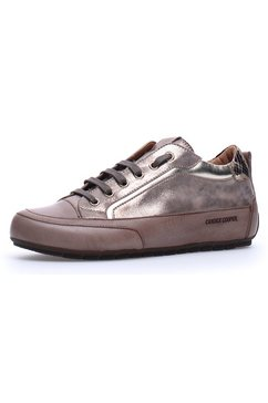 candice cooper sneakers kendo met opzij gestempeld logo zilver