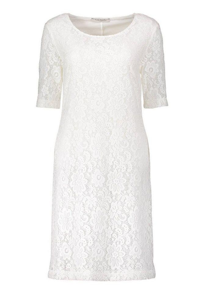 Betty Barclay kanten jurk wit