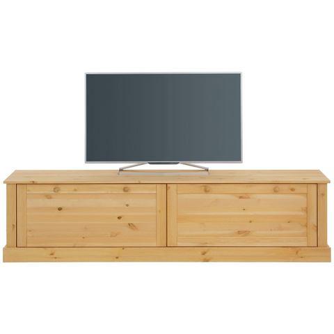 Home Affaire tv-meubel Dann, met decoratief freeswerk en 2 kleppen, breedte 180 cm