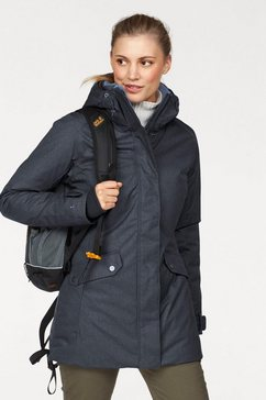 columbia functionele parka »pine bridge« blauw