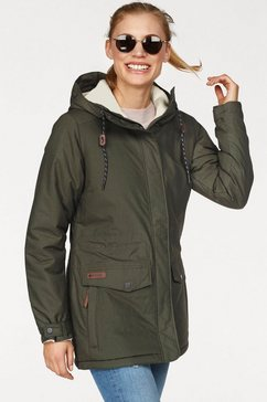 columbia functionele parka »prima element ii« groen