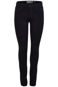 only skinny fit jeans rain in 5-pocketsstijl zwart