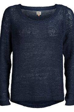 only gebreide trui »geena« blauw