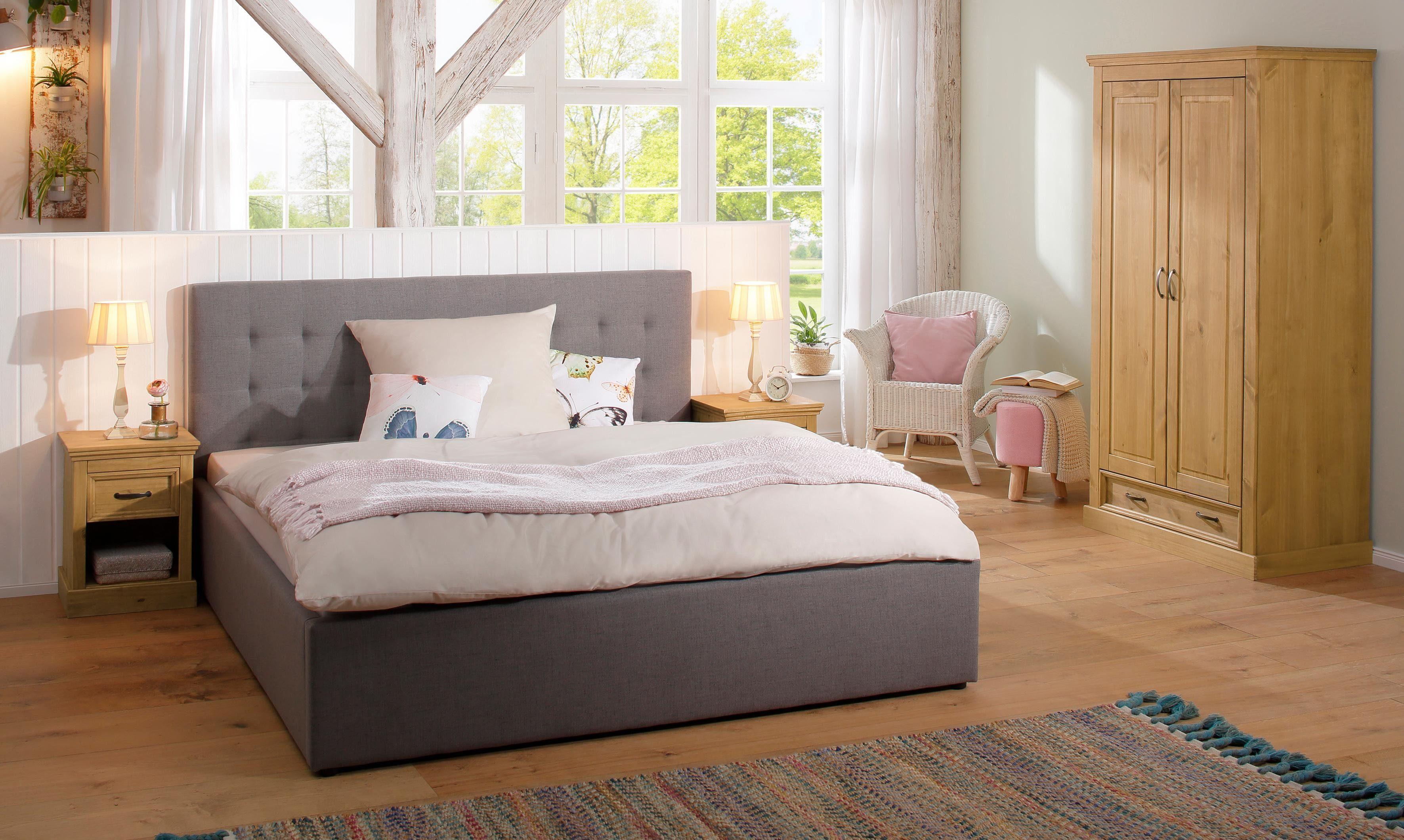 Slaapkamer Massief Hout : Home affaire tweedeurs garderobekast selma« voor de slaapkamer