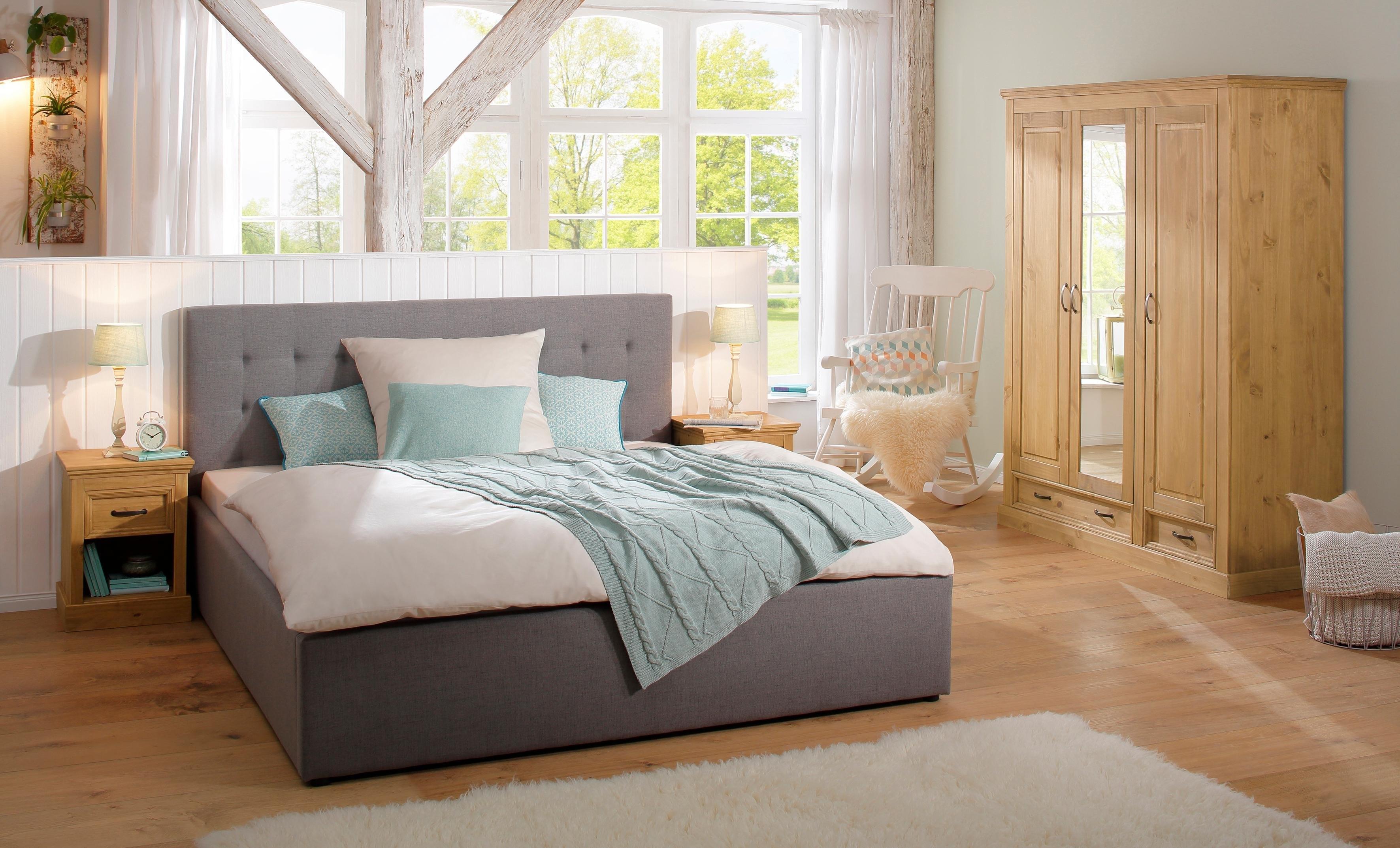 Slaapkamer Massief Hout : Home affaire 3 deurs garderobekast »selma« voor de slaapkamer van