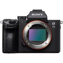 sony »ilce-7m3b body« systeemcamera (24,2 mp, wifi nfc) zwart