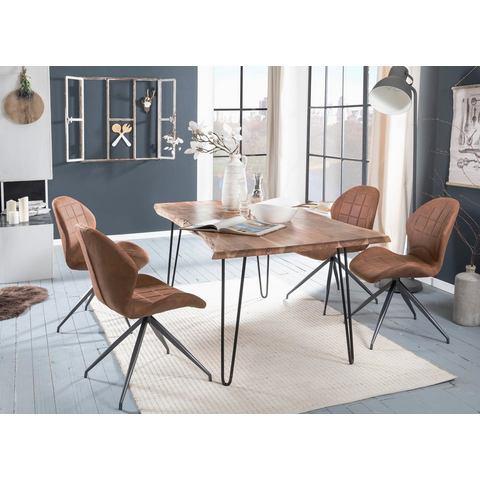 Premium collection by Home affaire eettafel Manhattan 2.0 in schaaldelen-look