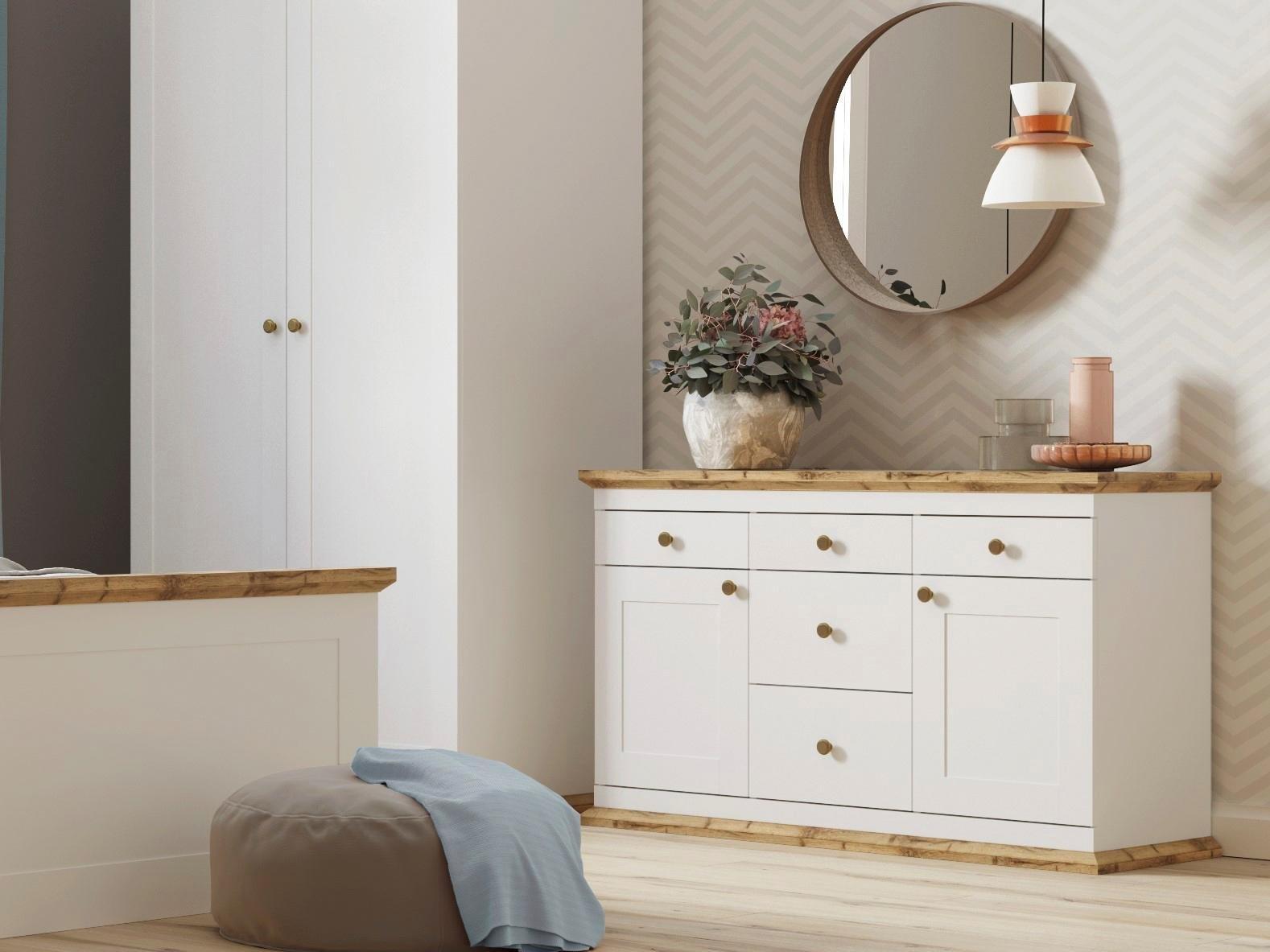 Home affaire kast »banburry« 2 deurs 121 cm breed makkelijk